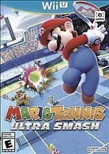 Mario Tennis Ultra Smash Nintendo Wii U Video Game New Sealed