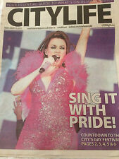Dannii Minogue City Life Gay Pride 2015 Manchester Gig Promo UK Cover Clippings