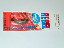 Rebel Teeny Crawfish F7775 Floater Diver Fishing Lure