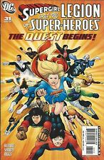 DC Supergirl and the Legion of Superheroes comic issue 31