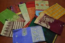 """12 PCS HANDMADE DRAWSTRING JEWELRY GIFT POUCHES BAGS 5"""" x 8"""" #8009"""