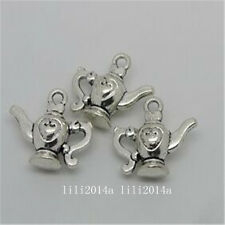 6pc Tibetan Silver teapot Charm Beads Pendant Findings wholesale  PL1014