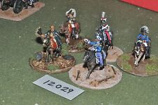 25mm napoleonic french command (as photo) (12029)