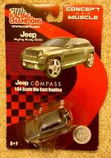 Racing Champions Concept and Muscle Series Gray Jeep Compass, Styling Study 2002
