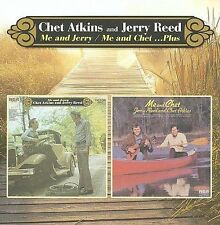 Me And Jerry/Me And Chet...Plus by Chet Atkins/Jerry Reed (CD, Nov-2009,...