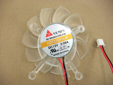 65mm VGA Video Card Fan For Asus 8600GT 9500gt YD127015LS #M344 QL