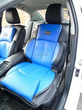 i - TO FIT A FORD FIESTA ST CAR, SEAT COVERS, YS02 RECARO SPORTS, BLUE / BLACK