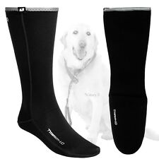 Camaro Titanium Thermo 1mm Neoprene Mid-Calf-Cold Water Socks Unisex XL