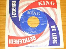 """COUNTRY 45 RPM - T.TEXAS TYLER - KING 5249 - """"DECK OF CARDS"""""""