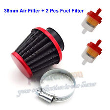 38mm Air Filter Fuel Filter For 50cc 110cc 125cc Dirt Pit Bike Scooter ATV