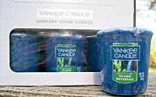 "Box Lot of 18 Yankee Candle ""ISLAND WATERFALL"" Fresh Votives NOT YET RELEASED!"