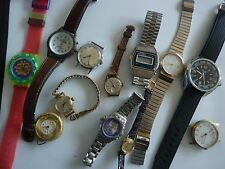 Joblot of watches for spares repairs seiko swatch montine mechanical and quartz
