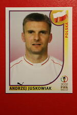 PANINI KOREA JAPAN 2002 # 276 POLSKA JUSKOWIAK WITH BLAK BACK MINT!!!