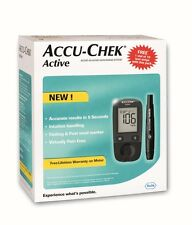 Accu-Chek Active Blood Glucose Monitor(ONLY METER PACK NO FREE TEST STRIPS)