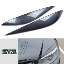 PAINTED W204 C CLASS MERCEDES BENZ HEADHIGHT LAMP COVER EYEBROWS EYELIDS 08-11