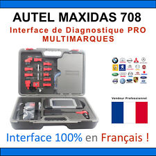 AUTEL MAXIDAS DS708 - Valise Diagnostique MULTIMARQUES PRO AUTOCOM / DELPHI CDP