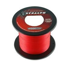 0,15€/m 50m - 0,40mm - 53,06kg - Spiderwire Stealth Braid Code Red