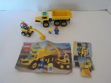 Lego 6581 Town Construction Dig N Dump Truck Set Complete Excavator (year 1996)