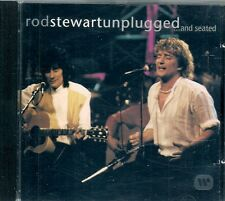 CD ALBUM LIVE 15 TITRES--ROD STEWART (WITH R.WOOD)--UNPLUGGED...AND SEATED--1993