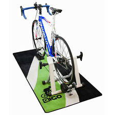 New 'Green Flow' Garage / Workshop / Bike Turbo Trainer Floor Mat (180cm x 80xm)