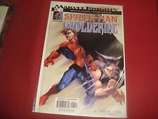 SPIDER-MAN / WOLVERINE #4  Marvel Knights  Comics - 2003  NM