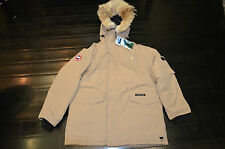 Canada Goose Heli Arctic Parka Made In Canada XL Tan 8502M -30 Bellow
