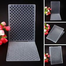 Small Dots Plastic Embossing Folders for DIY Card Making Decoration Supplies DH
