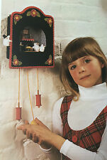 SEWING PATTERN Jean Greenhowe Mouse House & Clock RARE PATTERN Hickory Dickory