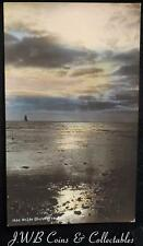 """Old Postcard """"On The Glister Of The Sea"""" Produced By H.Camburn, Turnbridge Wells"""