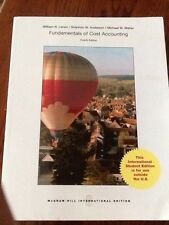 INTERNATIONAL EDITION-Fundamentals of Cost Accounting by Michael Maher  4E