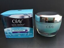 Olay White Radiance Advanced Whitening Night Essence Skin Cream Moisturizer, 50g