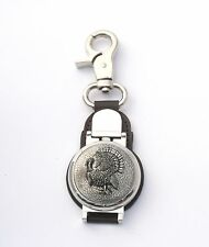 Turkey Bird Design Clip on Fob Pocket Watch Turkey Hunting Gift