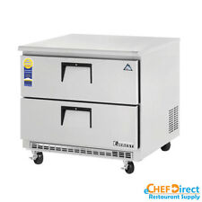 "Everest ETBSR2-D2 36"" Double Drawer Undercounter Refrigerator"