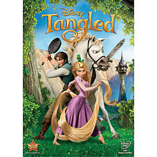 Tangled (DVD, 2011) Genuine Disney DVD