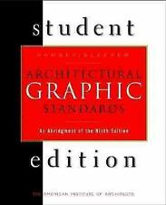 Architectural Graphic Standards Student Edition: An Abridgement of the 9th Editi