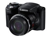 Canon PowerShot SX500 IS 16.0 MP Digital Camera - Black New! FREE SHIPPING
