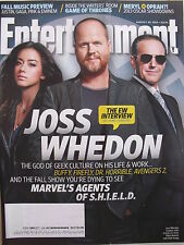 JOSH WHEDON - S.H.I.E.L.D. August 2013 ENTERTAINMENT WEEKLY   GAME OF THRONES