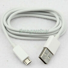 White 1M Micro USB Data Charger Cable Cord For Nokia Lumia 920 HTC One X S Moto