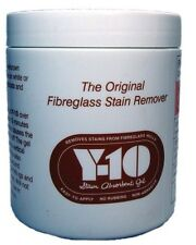 Y-10 FIBREGLASS STAIN REMOVER ABSORBENT GEL YACHT MOTORBOAT BOAT