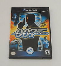 Nintendo Gamecube 007 Agent Under Fire Complete Woking R11529