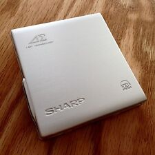TOP END: Sharp Auvi MD-DS70 Portable MD Minidisc Player, Charge Base, Remote +