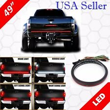 "49"" Inch LED Tailgate Brake Light Bar Turn Signal Left Right + White Reverse"
