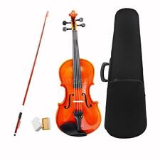 1/2 Size Violin Fiddle Basswood Steel String Arbor Bow for Kids 8-10 S8H6