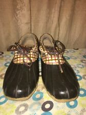 WOMEN'S SPERRY TOP SIDER BOOTS Rain Duck Tag Size 9.5