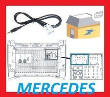 Cable auxiliaire aux adaptateur mp3 pour autoradio Mercedes Classe CLK W209