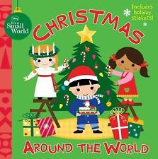 Disney It's A Small World: Christmas Around the World-ExLibrary