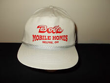VTG-1990s Bobs Mobile Homes Belpre Ohio State Buckeyes colors rope hat sku20