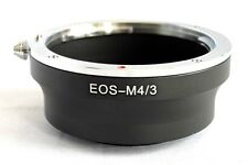 Canon EOS EF EF-S Lens to Micro 4/3 M4/3 M43 Mount Adapter EP3 GX1 OM-D EF-M43