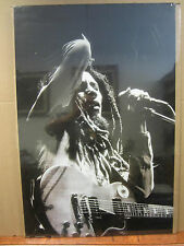 Robert Nesta Marley Poster original unused black and white 2445