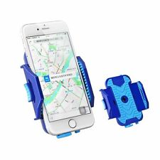 "LETDOOO Cycling Mobile Phone Holder for Smartphone Fit 4.2""-6.2"" Blue"
